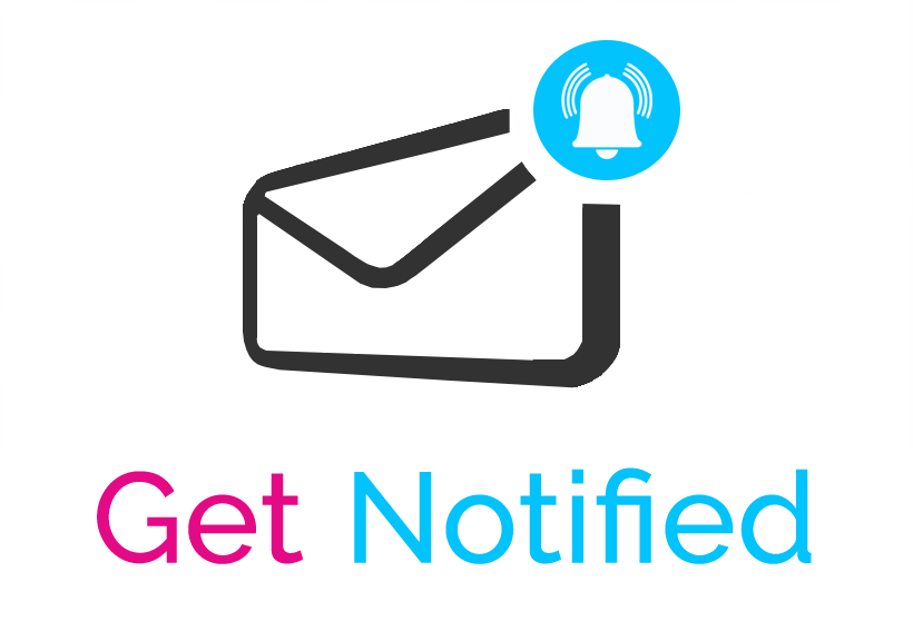 get notified email notification