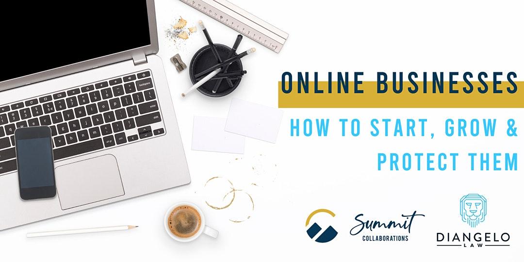 how to start an online business webinar